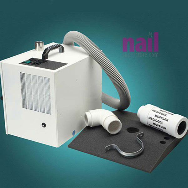 Nail Dust Collector & Air Purifier System | Eliminates Odors & Nail Dust