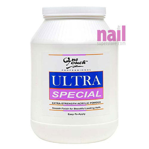 OneTouch Acrylic Nail Powder | High Impact - Amazing Retention - Special Mixed - Jumbo Size