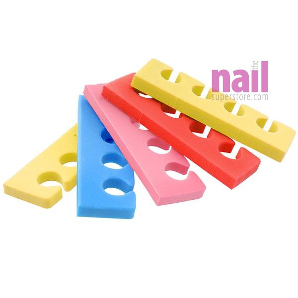 Pedicure Toe Separators *360 PAIRS* | Mixed Colors - Comfortable Fit - Durable