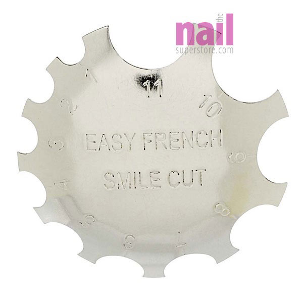 C Smile Line Tool - French Nail Cutter | Creates Perfect Pink & White Smile Line Fast & Easy