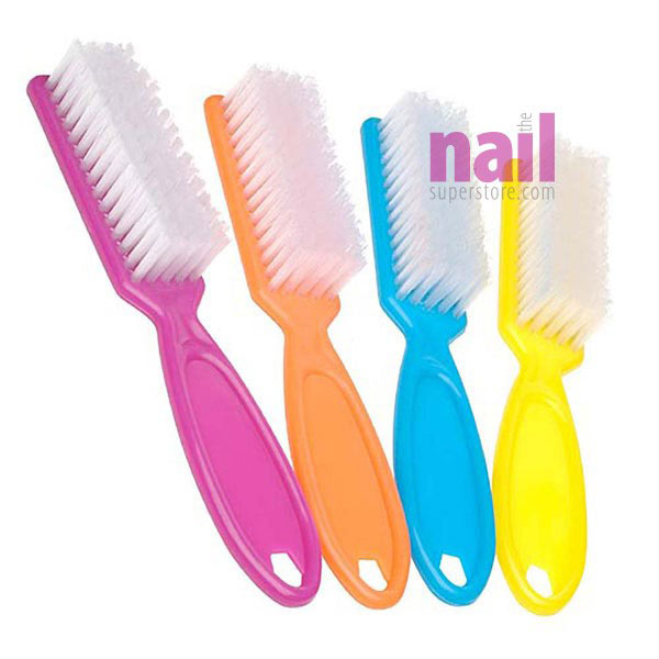 Professional Manicure Brush | Soft Bristles - Clean Off Dust & Residue Under Nails