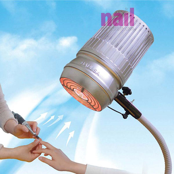 Sunflower LED Light & Nail Dust Collector | 2-in-1