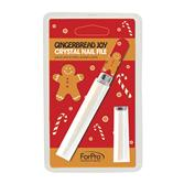 Crystal-Nail-File-7c-Christmas-Gingerbread-Man-Design