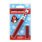 Crystal-Nail-File-7c-Christmas-Penguin-Pattern