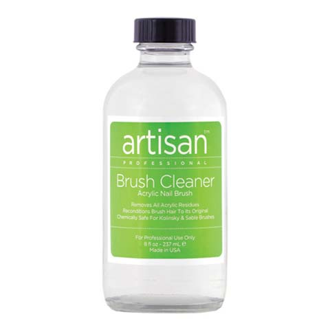Artisan Nail Brush Cleaner | Quickly Removes Acrylic, Gel Residue & Build Up