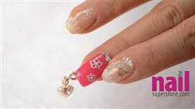 Japanese Nail Art - Love Me Sweety Heart