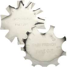 French Pink & White Cutter Tools