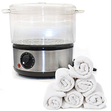 NEW! Hot Towel Steamer