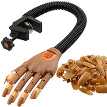 Flexible Hand Trainer with 100 tips