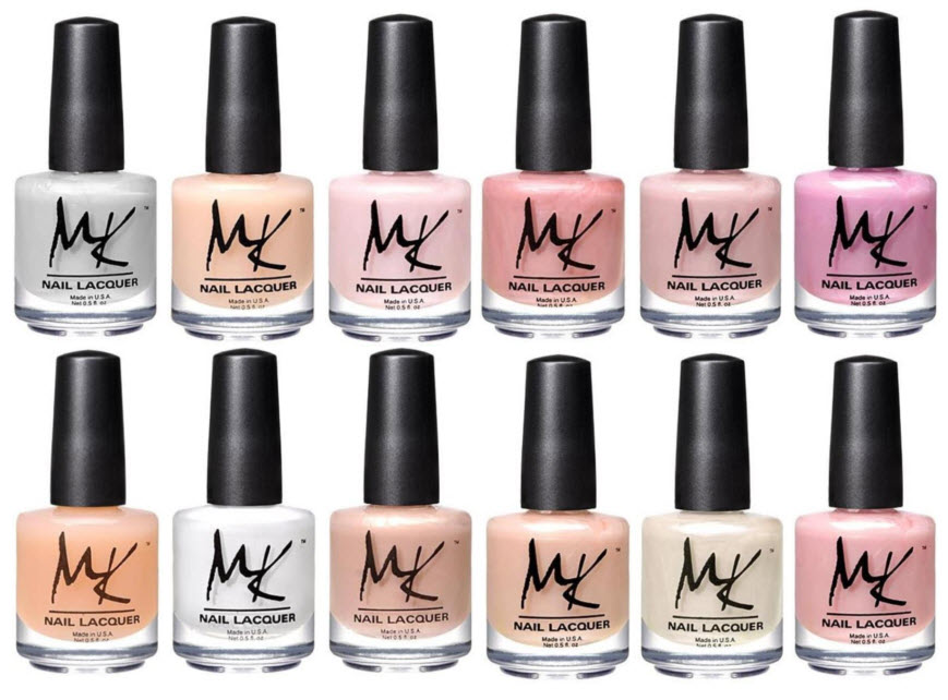 MK Nail Polish Sweet Whispers Collection
