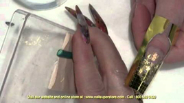 Artisan Color Acrylic Nail Powder - Mylar Nail Art Part 3