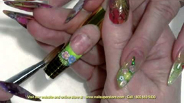 Artisan Color Acrylic Nail Powder With Clay Cane Part 1