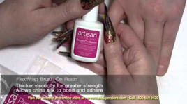 Step By Step Video - How To Use Artisan Silk Wrap System Part 1