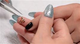 Japanese Nail Art Jewelry - 3D Bow Charm & Dangle