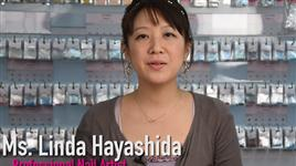 Ms. Linda Hayashida Profile - Japanese Guest Nail Artist for The Nail Superstore