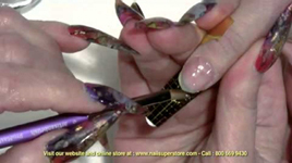 How To Do French Pink & White Gel Nails - Using Artisan Builder Gel Products Part 1